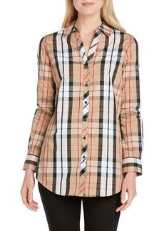 Foxcroft Faith Anderson Tartan Shirt