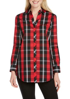 Foxcroft Faith Mackenzie Tartan Shirt