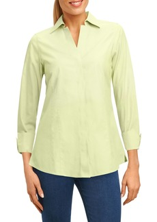 Foxcroft Fitted Non-Iron Shirt (Regular & Petite)
