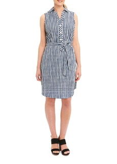 Foxcroft Gingham Shirt Dress