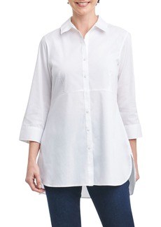 Foxcroft Gwen Stretch Tunic Shirt