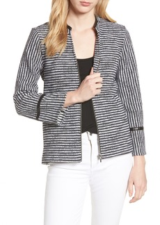 Foxcroft Irina Stripe Knit Jacket