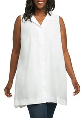 Foxcroft Latrice Sleeveless Shirt (Plus Size)