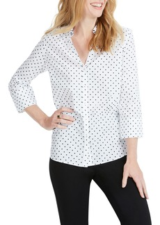 Foxcroft Mary Star Dot Shirt