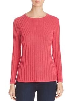 Foxcroft Mindy Metallic Ribbed Sweater