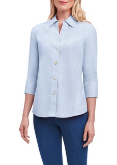 Foxcroft Paityn Non-Iron Cotton Shirt (Regular & Petite)