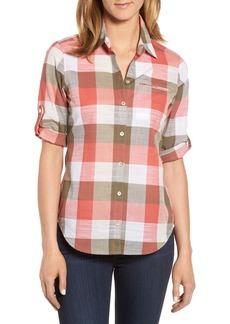 Foxcroft Reese Buffalo Check Shirt (Regular & Petite)