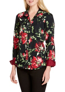 Foxcroft Rhonda Dreamy Floral Shirt (Regular & Petite)