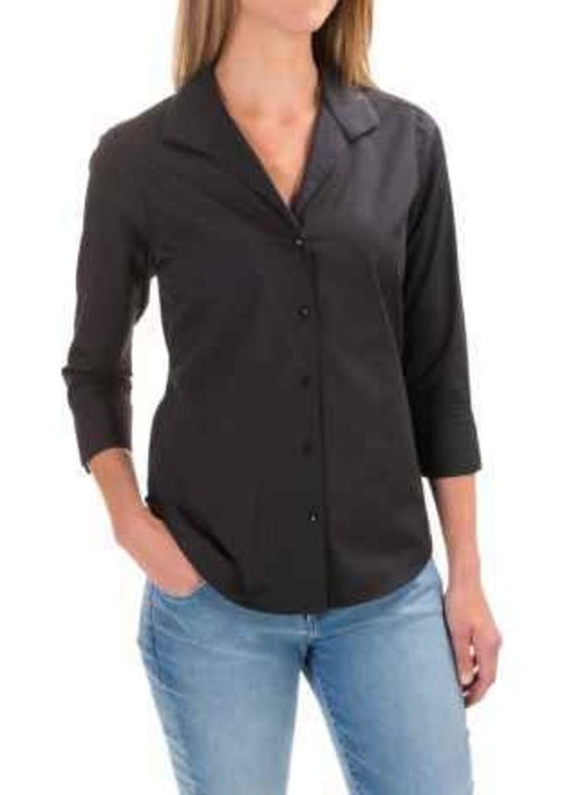 e66a1031 On Sale today! Foxcroft Foxcroft Shaped Button-Down Shirt - 3/4 ...