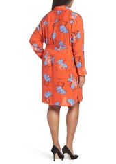 Foxcroft Shirtdress (Plus Size)