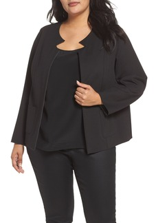 Foxcroft Tilly Reversible Ponte Jacket (Plus Size)