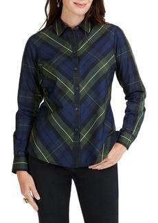 Foxcroft Tina Lenox Tartan Shirt (Regular & Petite)