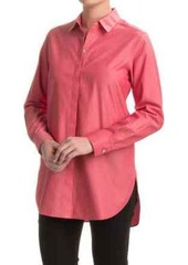 Foxcroft Vanessa No-Iron Tunic Shirt - Long Sleeve (For Women)