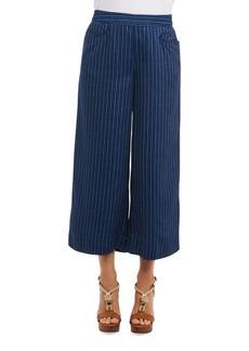 Foxcroft Wide Leg Culottes Pull-On Pants