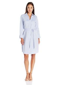 "Foxcroft Women's 3/4 Sleeve Non Iron ""Taylor"" Shirt Dress"