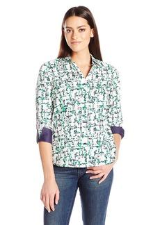 Foxcroft Women's 3/4 Sleeve Taylor Shirt