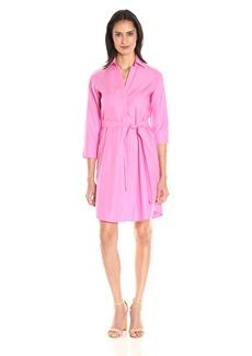 Foxcroft Women's 3/4 Sleeve Taylor Shirt Dress Essential Non Iron  18