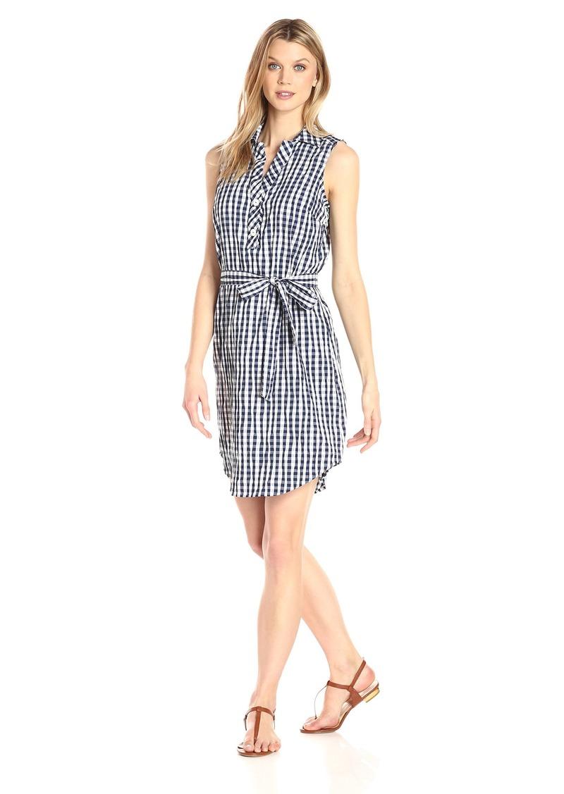 Foxcroft Women's Adele Crinkle Gingham Dress