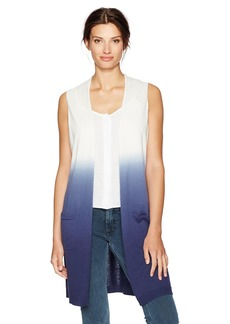 Foxcroft Women's Celeste Dip Dye Sleeveless Knit Vest  XL