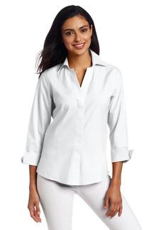 Foxcroft Women's Hidden Placket Shirt