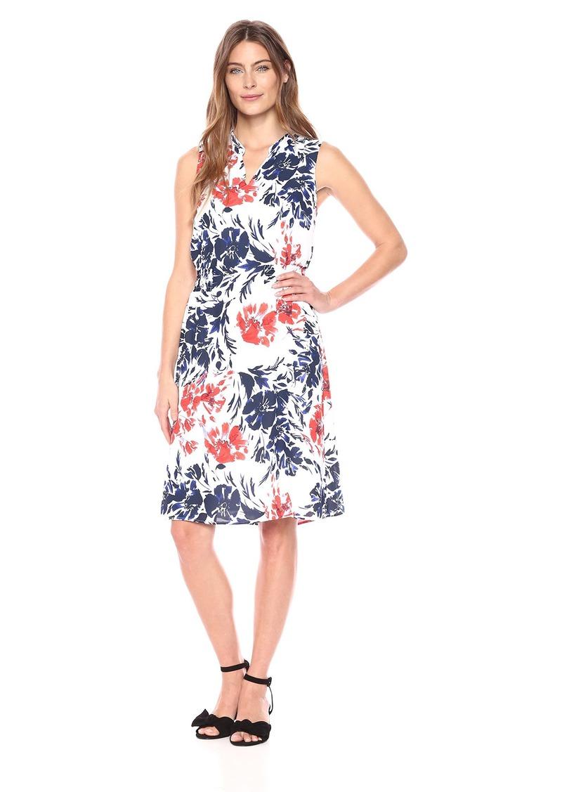 Foxcroft Women's Jane Breezy Floral Dress