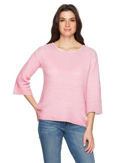 Foxcroft Women's Liya Ottoman Rib Sweater
