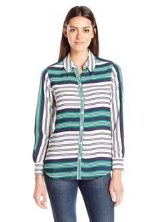 Foxcroft Women's Long Sleeve Addison Blouse