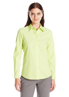 Foxcroft Women's Long Sleeve Diane Essential Non Iron Shirt