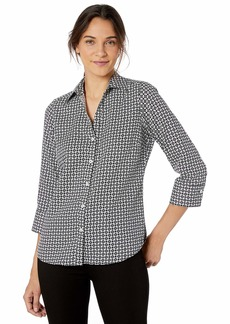 Foxcroft Women's Mary Medallion Wrinkle Free Shirt