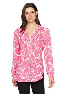 Foxcroft Women's Mindy Floral Blouse