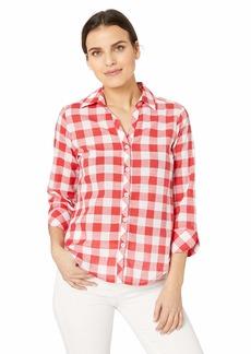 Foxcroft Women's Petite Dara Gingham Shirt