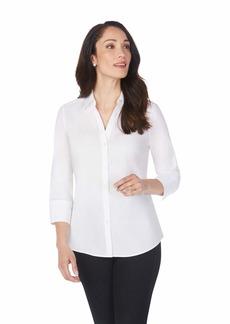 Foxcroft Women's Plus Size Mary Non Iron Stretch Blouse  20W