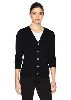 Foxcroft Women's Shirley Long Sleeve Solid Cardigan  XL