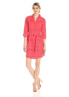 Foxcroft Women's Taylor Eyelet Dress