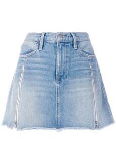 FRAME a-line denim skirt
