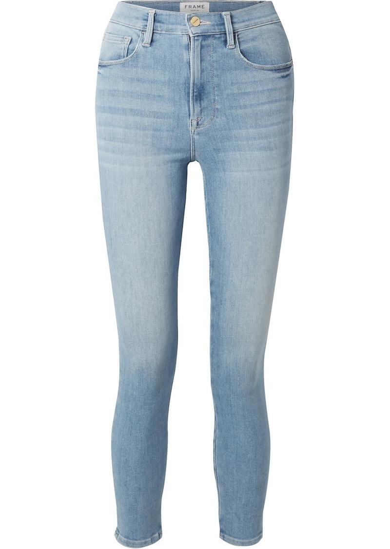 FRAME Ali High-rise Skinny Jeans