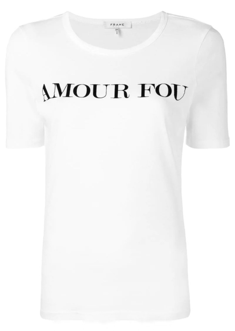 FRAME Amour Fou T-shirt