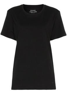 FRAME black men's short sleeve linen t shirt