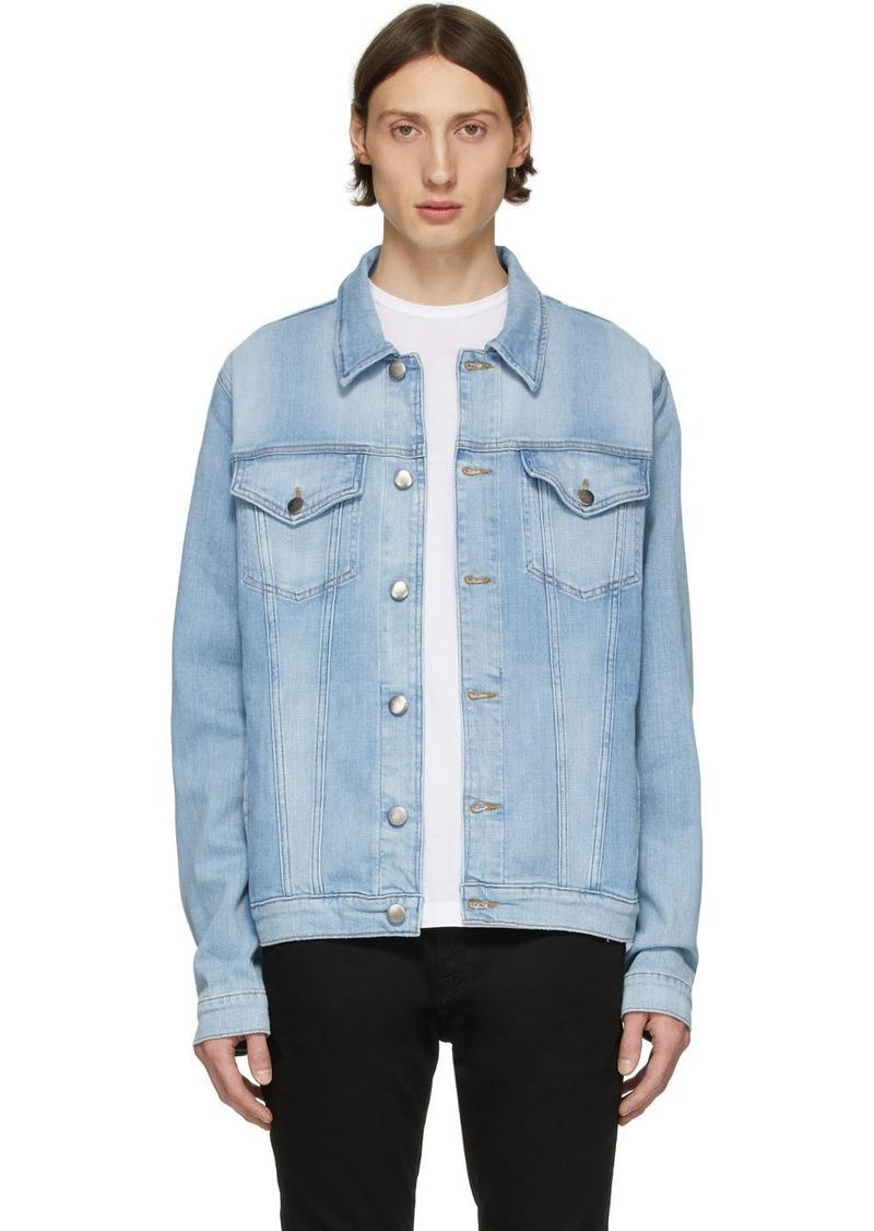 FRAME Blue Denim L'Homme Jacket