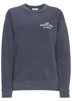 FRAME Blue vintage crewneck sweatshirt