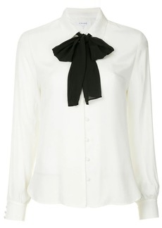 FRAME bow tie blouse