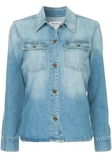 FRAME button denim shirt