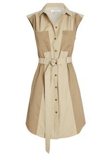 FRAME Cargo Belted Mini Dress