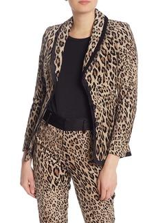 FRAME Cheetah Print Jacket