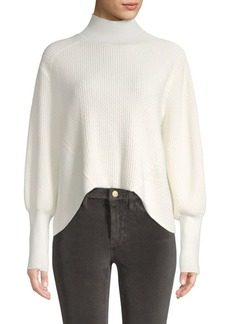 FRAME Chenille High-Low Sweater