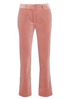 FRAME Classic Velvet Cropped Trousers