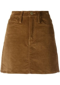 FRAME corduroy mini skirt
