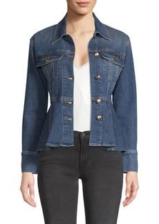 FRAME Cotton Denim Jacket