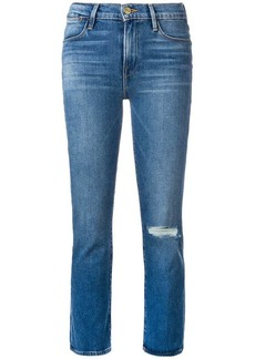 FRAME cropped skinny jeans