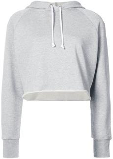 FRAME cropped track hoodie